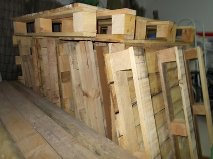 Donating pallets