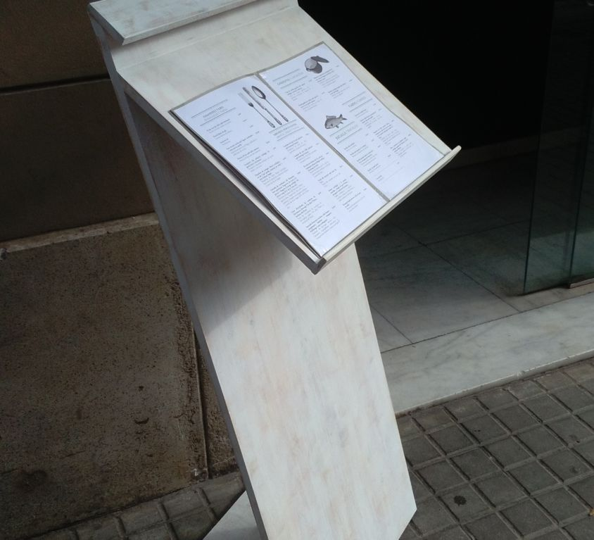Single or double lectern