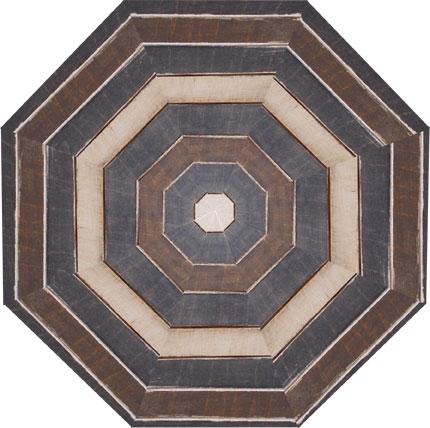 Taula octagonal de colors